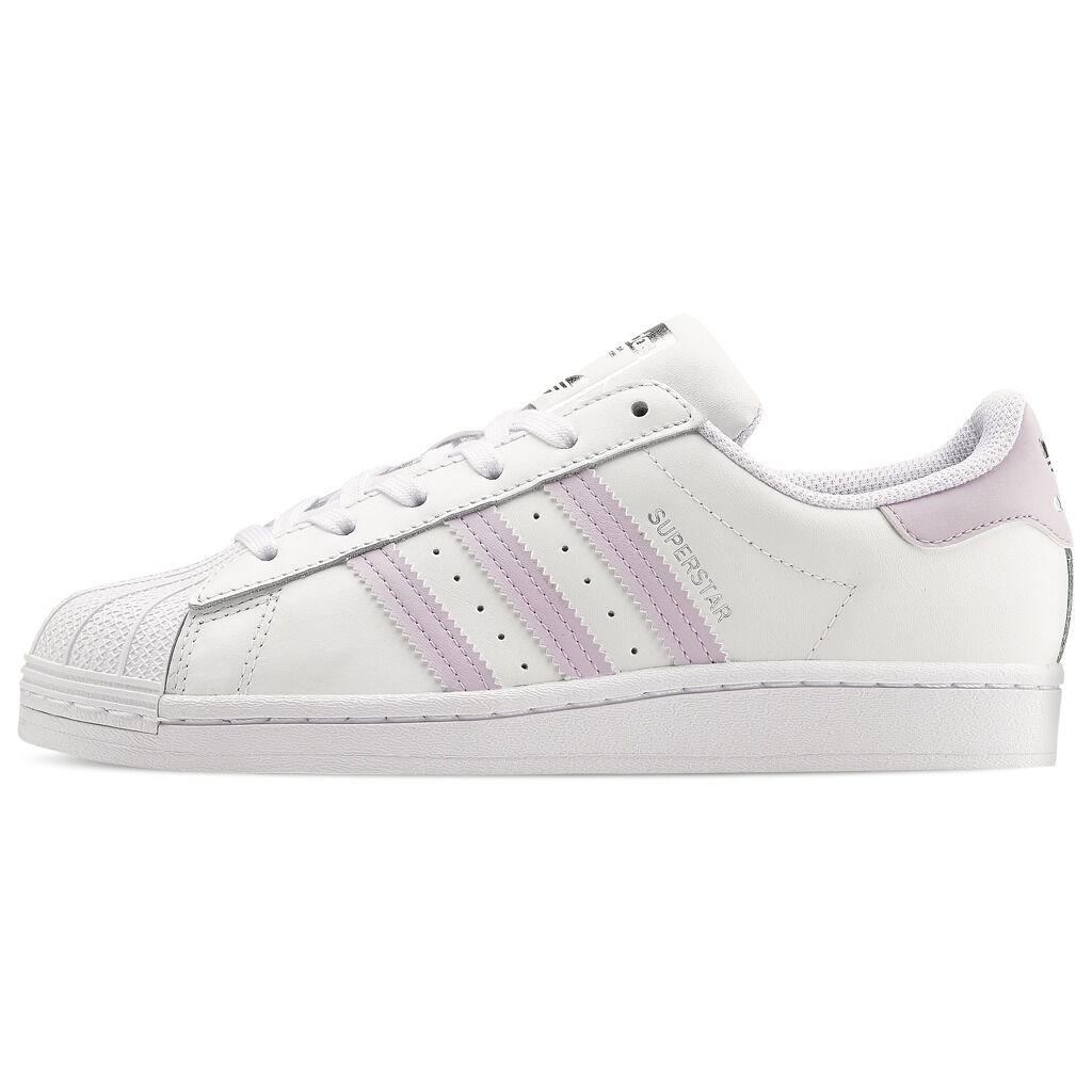 ADIDAS SUPERSTAR white and lilac � AW LAB