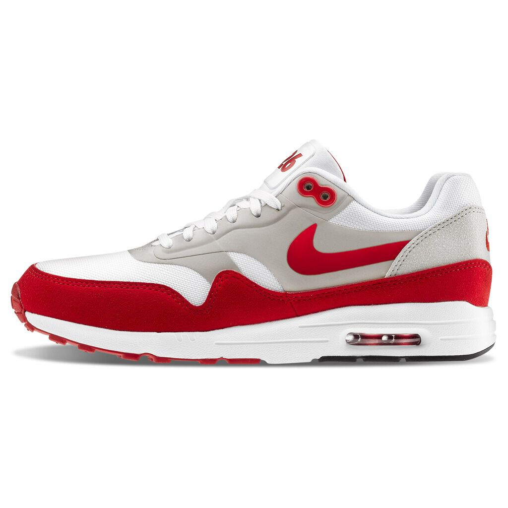 Nike Air Max 1 Ultra 2.0 red and white shoes - AW LAB