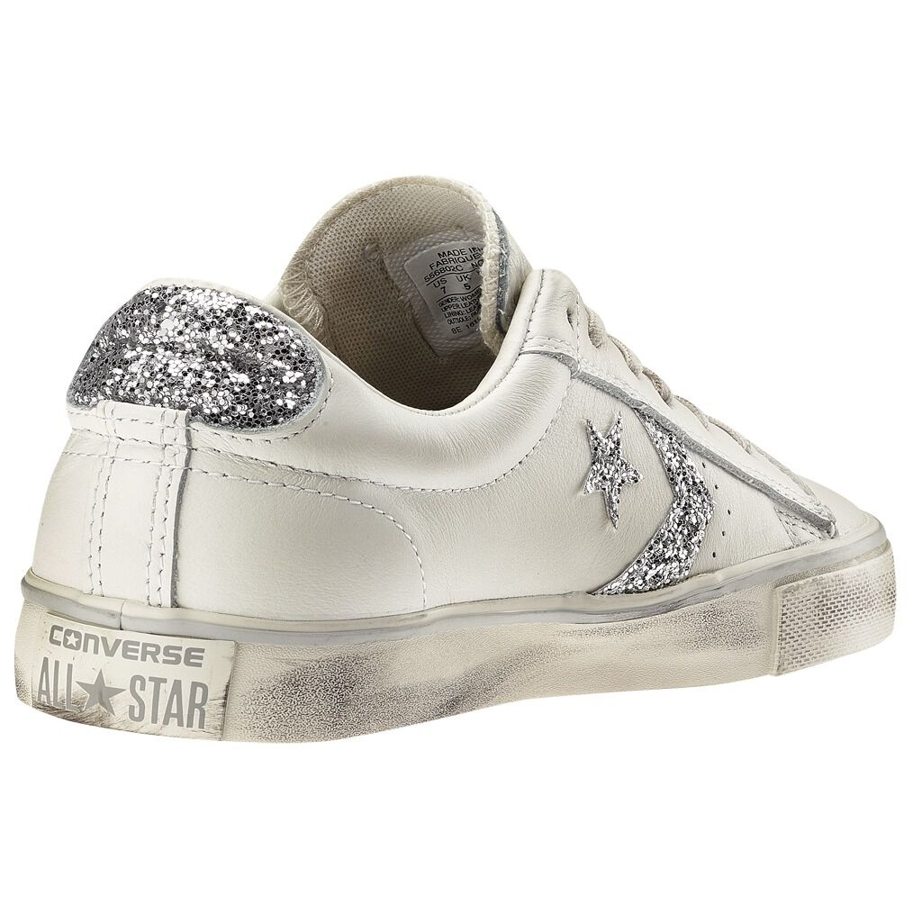 converse pro leather distressed