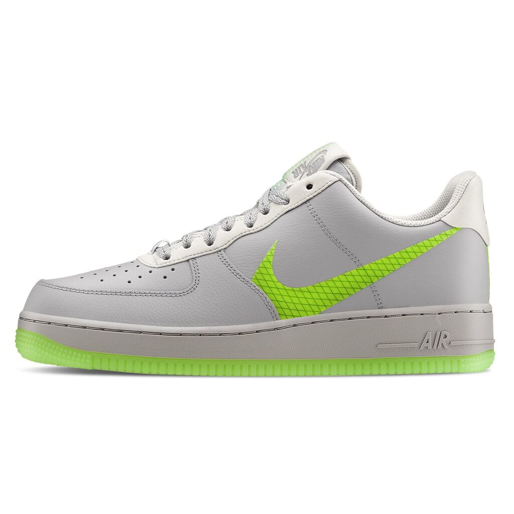 air force 1 gomma alta