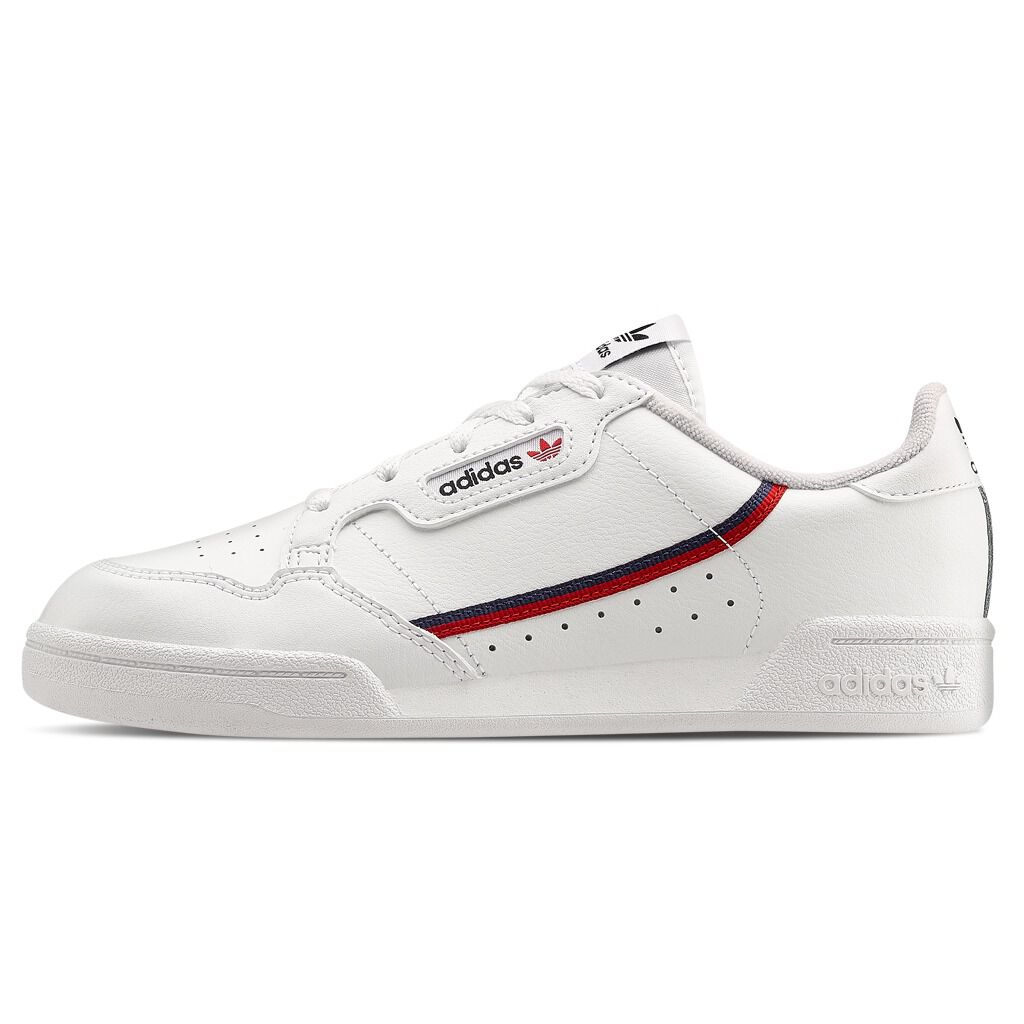 Adidas Continental 80 white shoes with