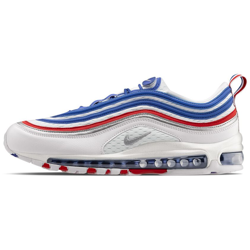 air max 97 white and light blue