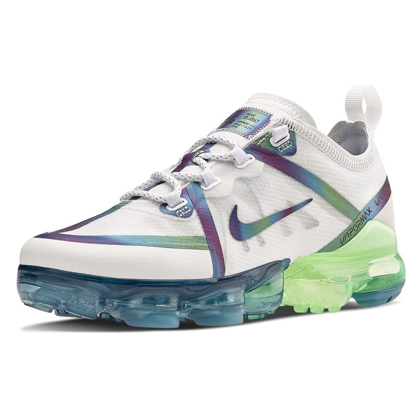 hazlo plano Combatiente Hazme  NIKE AIR VAPORMAX 2019 20 white, light blue and green � AW LAB