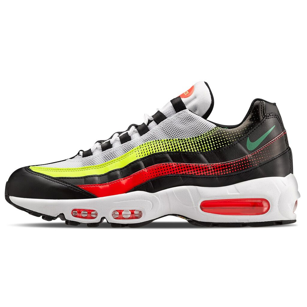 Nike Air Max 95 black, yellow and red