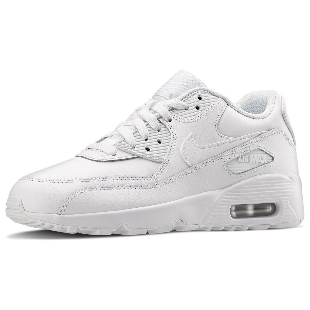 air max 90 leather bianche uomo